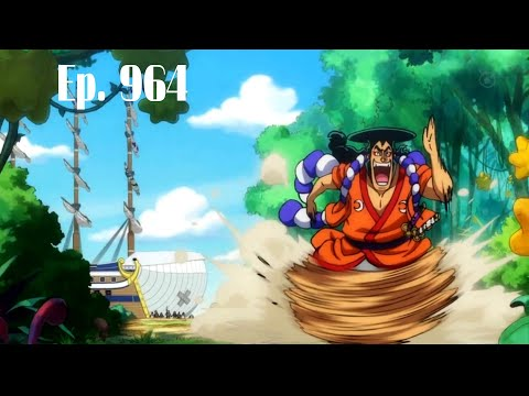 One Piece Episode 964 English Subbed CC - ワンピース 964話